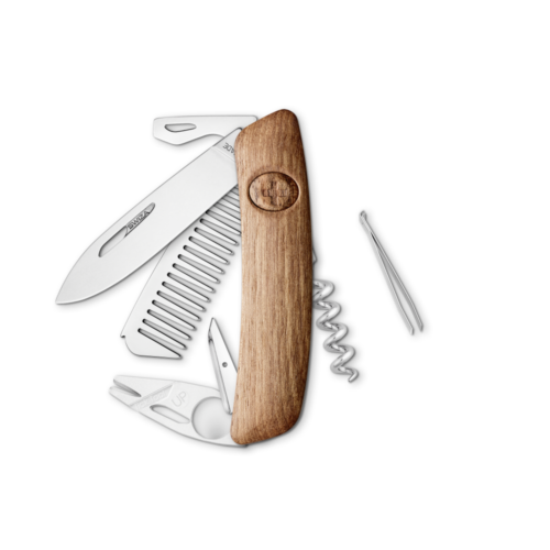 SWIZA Swiss Knife SWIZA CO05TT Walnut - KCO.0090.6300