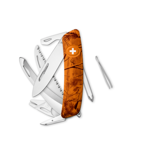 SWIZA Swiss Knife SWIZA HU10R-TT Orange - KHU.0220.2160